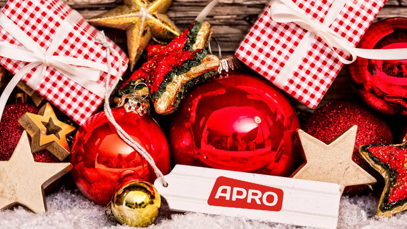 АПРО СИСТЕМС новый год 2016